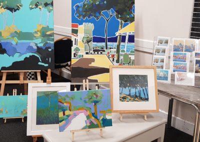 Work on display